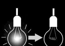 infographic lamp aan lamp uit