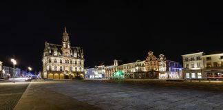 architecturale verlichting Stadhuis Oudenaarde