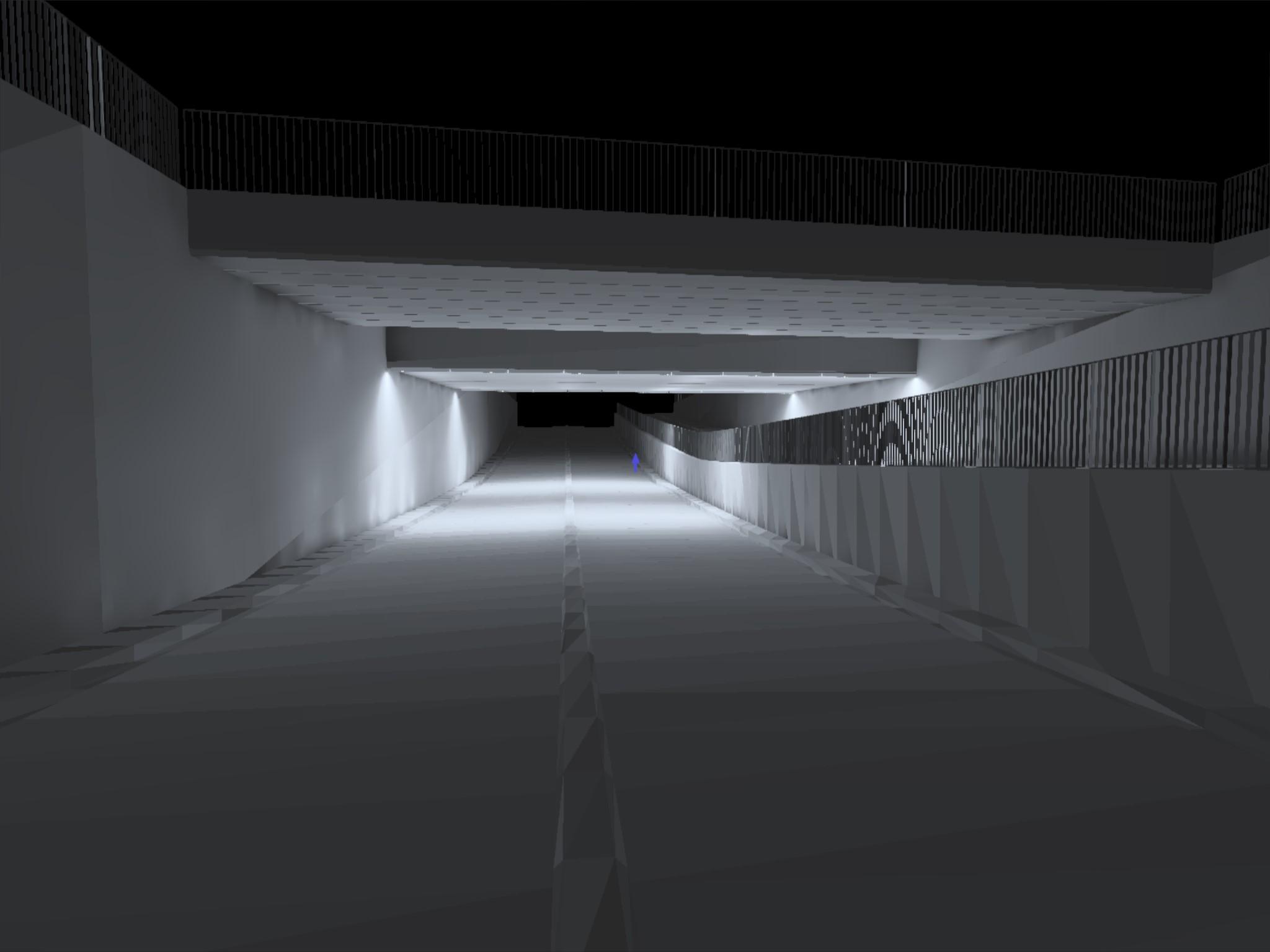 Lichtberekening Tunnel TAST B.V.